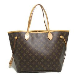 Louis Vuitton Neverful Mm Tote Bag Monogram Women And039s Brown System No.7482