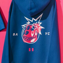 Bored Ape Yacht Club X The Hundreds - Xl - Blue Hoodie - Unopened Ltd. Edition