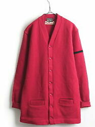 5039s Vintage Californian Wool Knit Cardigan Men39s Ml Old Clothes 2 Tone L