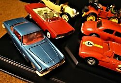 Corgi Toys. Die Cast 143 Scale. Vintage Collection Of 9 Cars. Great