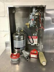 Ansul System R-102 1.5gal Ready To Install With Gas Valve