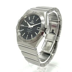 Omega 123.10.35.20.01.001 Twill Constellation Coaxial Selfwinding No.8509