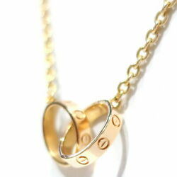 Jewellery Necklace Baby Love K18 Pg 750 Pink Gold Previously No.8114