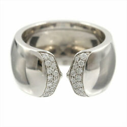 Absolutesse Diamond Ring About No.11 51 Womenand039s Mens K18wg No.8197