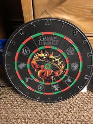 Game Of Thrones Dart Board Limited Edition Hbo Beautiful Design Dartboard Set