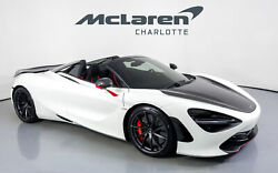 2021 Mclaren 720s Spider Performance 2021 Mclaren 720s Spider White With 839 Miles Available Now