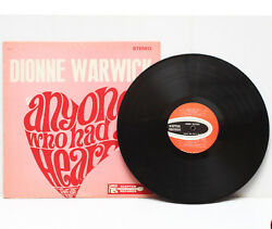 Dionne Warwick Anyone Who Had A Heart Lp Vinyl Record Stereo Sps-517 Usa 1971