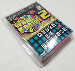 Wheel Of Fortune 2 Game.com New Tiger Gamecom Sealed Complete Box Electronics