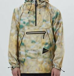 And Wander Fly Rain Anorak Hoodie Jacke Jacket Xl - Like New - Rare - Sold Out