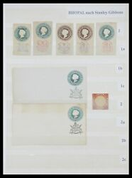 Lot 33723 Stamp Collection India States 1870-1949.