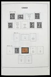Lot 34472 Stamp Collection Canada 1859-2006.