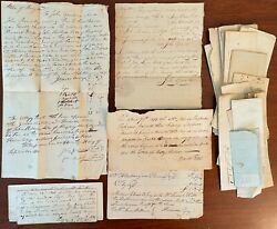 1799-early 1800s Allegany County Maryland - Estate Documents Lot 25