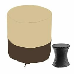Patio Cool Bar Side Table Cover For Keter 7.5 Gallon Cool Bar Waterproof Patio