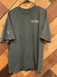 Dreamblade Collectable Miniatures Game Promo T-shirt Menand039s Xl 2-sided