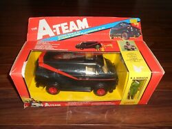 1983 The A-team Tactical Van Playset By Galoob