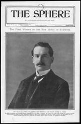 1900 PORTRAITS Hon W F D Smith Son of W H Smith First Member House Commons 191