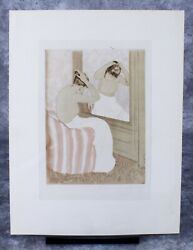 Mary Cassatt Color Drypoint And Aquatint On Laid Paper The Coiffure 1890-1891