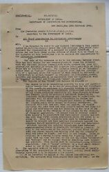 India 1942 Documents National Defence Front To Combat 5th Column Activities