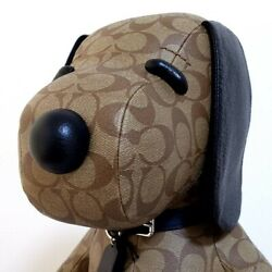 Coach Snoopy Collaboration Doll Plush Toy Coach