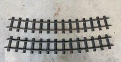 Vintage Original 1920's Buddy L Outdoor Railroad Curved Track 2 Sections