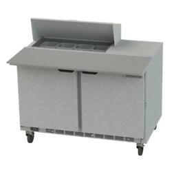 Beverage Air - Spe48hc-08c-23 - 48 In Cutting Top Prep Table W/ Casters