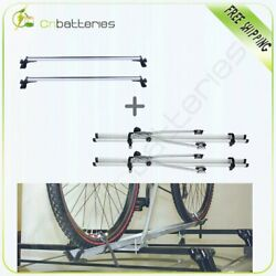 For Universal Top Cross Bar Luggage Roof Rack Carrier Crossbar Roof Bike Bicycle