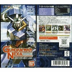 Gundam War Negza The First Edition Booster Pack Ignition Next Age...