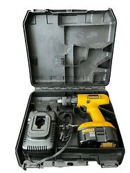 Dewalt Dw959 18v Cordless 1/2 Drill With 18v Battery, Case And Charger