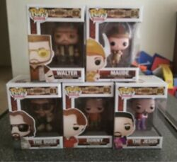 Big Lebowski Funko Set Of 5 Will Send All Pics Thur Email,couldnt Fit Them All