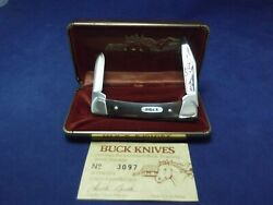 Buck 709 Equine Limited Edition Aurum Etch Pre-date Code Script New In Box With