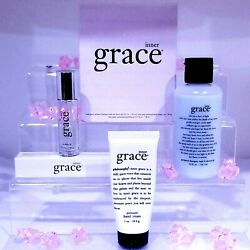 Philosophy Inner Grace Parfum Oil Shower Gel And Hand Boxed Set New Amazing