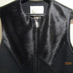 Hermes Cashier Leather Gilet From Japan Fedex No.1944