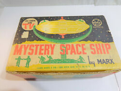 Marx Mystery Space Ship Playset Box, 1962, Good Condition