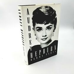 Signed By The Author Audrey Hepburn By Barry Paris - 1996 First Edition