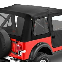 For Jeep Cj5 59-75 Bestop Supertop Black Crush Complete Replacement Soft Top