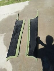 1938 Chevy Coupe Running Boards Pair L/r 1937