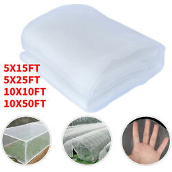 5/10 X10-50ft Floating Row Crop Cover/frost Blanket /garden Fabric Plant Cover