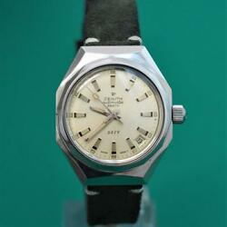 Superb 1970s Zenith Defy 28800 Automatic Cal.2562pc Rare Octagonal Gents Watch