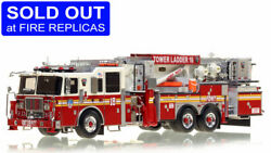 Fdny Seagrave Tower Ladder 18 Fort Pitt 1/50 Fire Replicas Fr33-18 New Last One