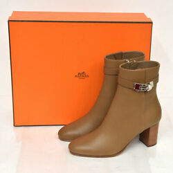 Hermes Official Sold-out Size Kelly Saint Germain Boots No.4928
