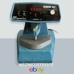 Ade Microsense 6033 Corded Semiconductor Silicon Wafer Thickness Gauge For Parts