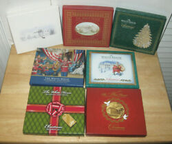 White House Historical Association Christmas Ornaments Lot Of 7 2006 To 2013