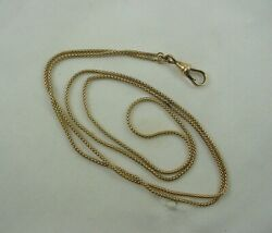 Vintage 10k Yellow Gold Watch Fob 24 Long