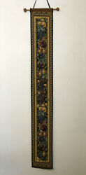 Tuscan Fruit Tapestry Bell Pull Wall Hanging Decor