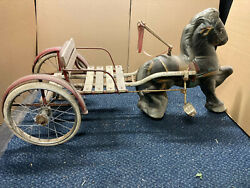 Vintage Mobo Pedal Horse Cart