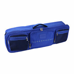 Osage River Fishing Rod Travel Bag With Adjustable Dividers Large Tackle And