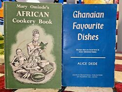 2 Out Of Print Vintage African Cookbooks Ghanaian Favorite Dishes And Omindeand039s