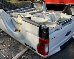 New 2021 Ford F250 8 Foot Long Truck Bed Box 8and039 White