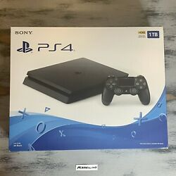 ⭐️ships Today⭐️ New Sony Playstation 4 Slim 1tb Black Console Ps4 Cuh-2215b