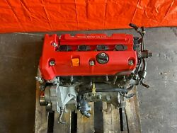05-06 Acura Rsx Type S - K20z1 Engine Motor Long Block - 200 Psi All 4 Cyl - Oem